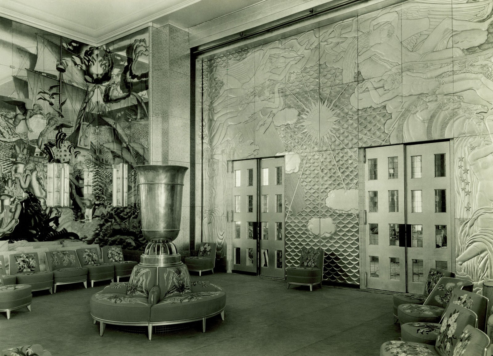 Tweedland the gentlemen 39 s club the fabulous interiors for Vintage art deco interior design