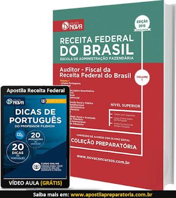 Apostila RFB Auditor Fiscal da Receita Federal do Brasil 2016-2017