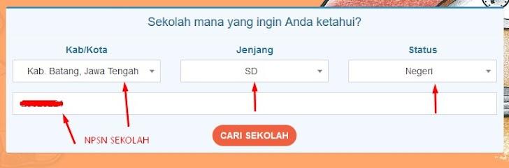 Segera Cek Informasi Sekolah Anda di sekolah.data.kemdikbud.go.id