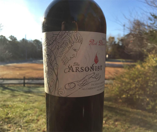 Matchbook The Arsonist 2012 Red Blend