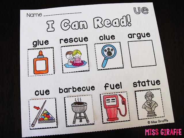 ue ui ew worksheets activities and phonics games to practice reading in fun hands on ways