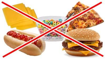 Alimentos que debes evitar para poder quemar más grasa