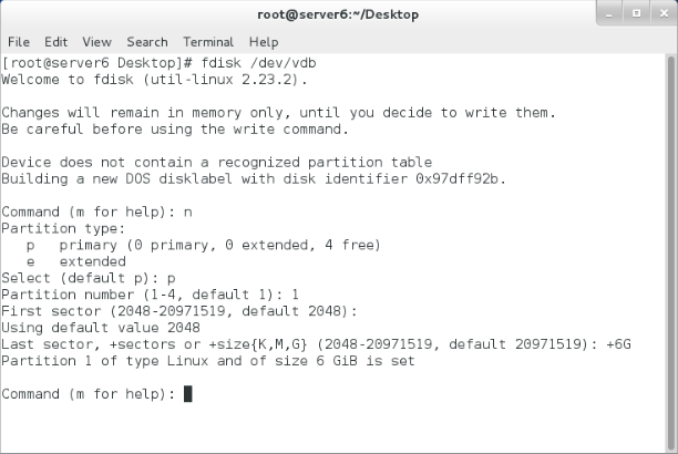 How to make a Linux Swap partition (RHEL7)?