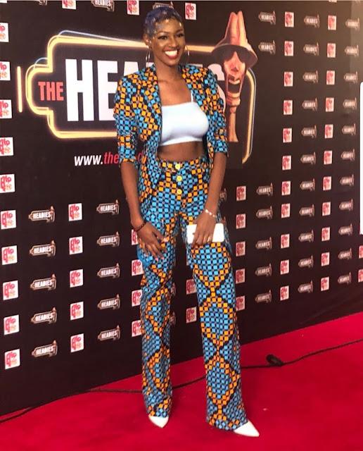 Photos of celebrities at the  2018 Headies awards