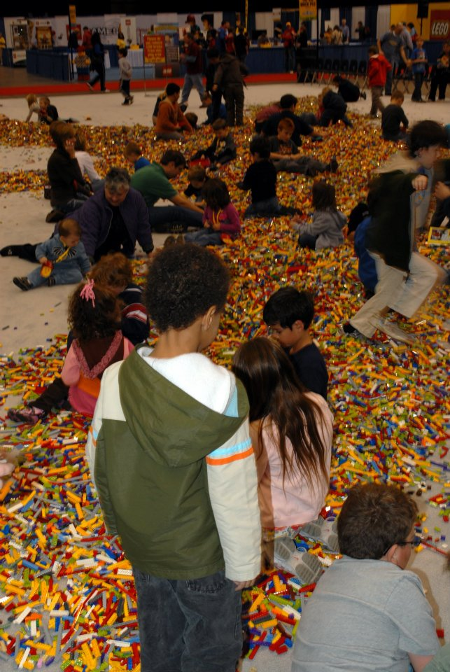 Pictures from Lego KidsFest Cleveland 2011 @mryjhnsn | pile of Legos