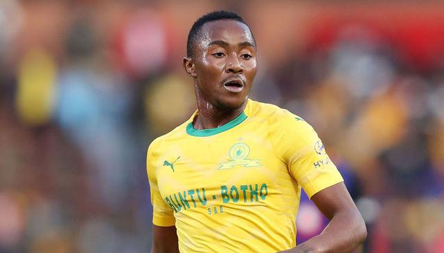 Mamelodi Sundowns forward Lebohang Maboe