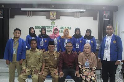 Kemenag Tanjungbalai Terima KKL Mahasiswa STMIK Royal Kisaran