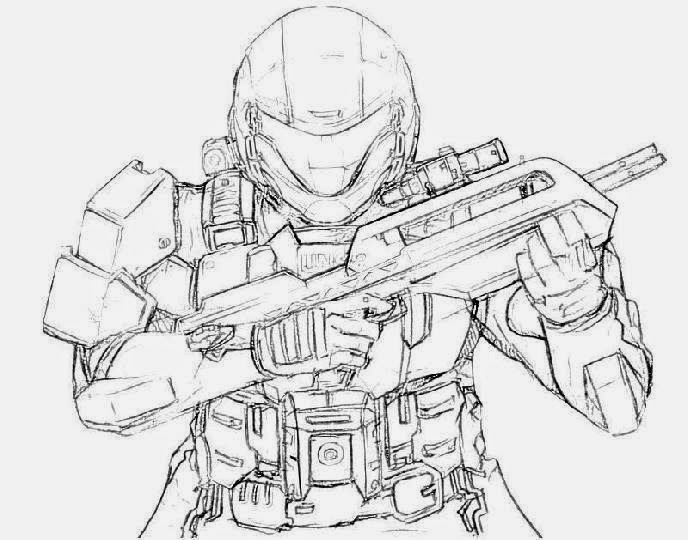 free printable halo coloring pages - free printable halo wars coloring pages