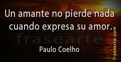 Frases para amantes - Paulo Coelho