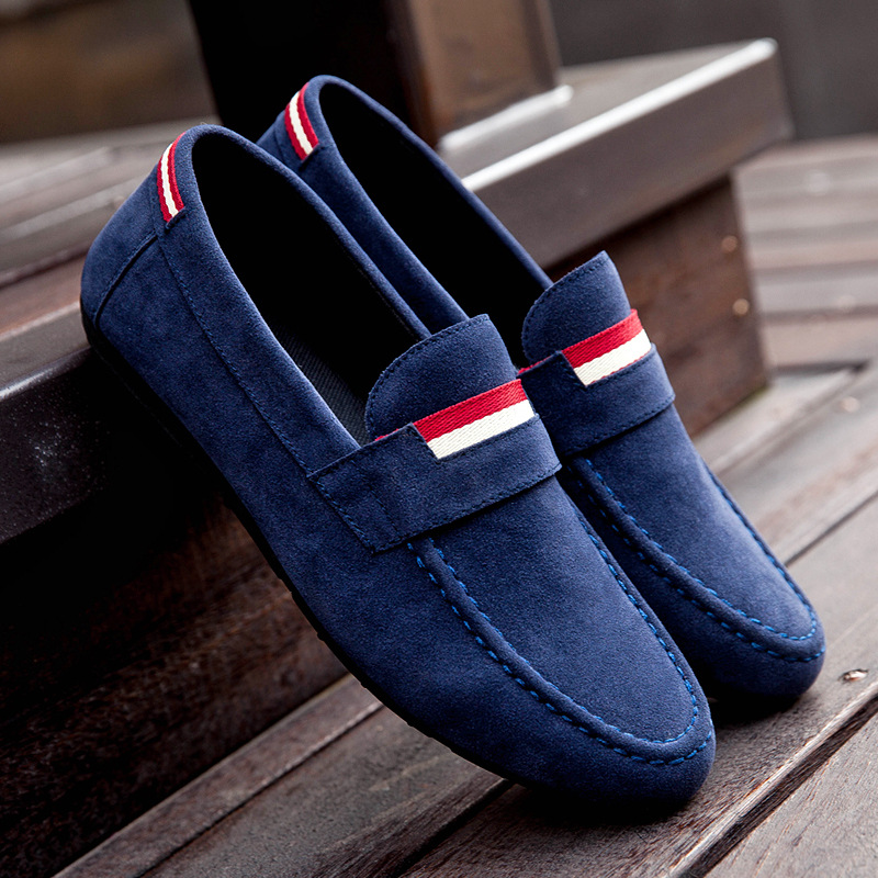 Canvas Loafers Mens Shoes