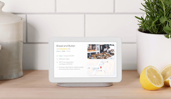 Google Home Hub is a smart display that works as a picture frame, assists you in the kitchen and manages home automation