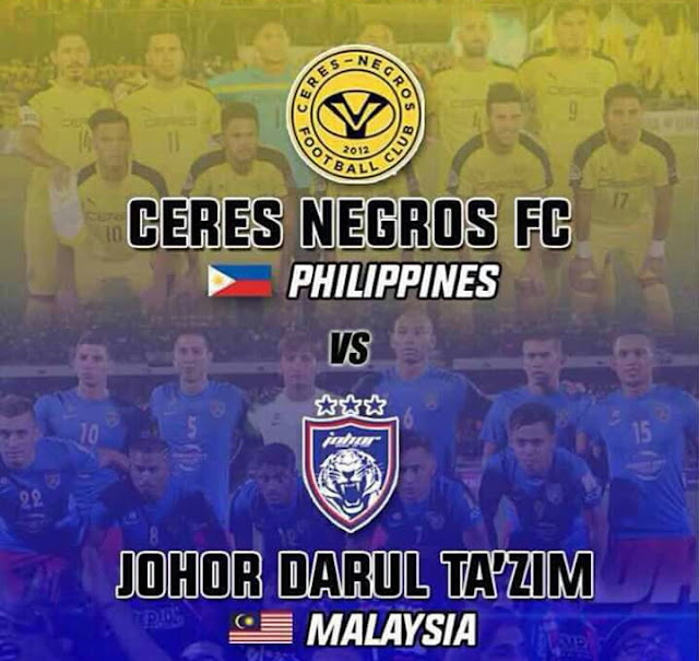 5 Sebab JDT Tewas Di Tangan Pasukan Ceres Negros, Tersingkir Piala AFC 2017!