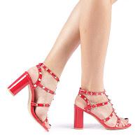 Sandale dama Clemena rosii