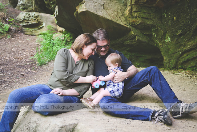family photo session at Turkey Run State Park