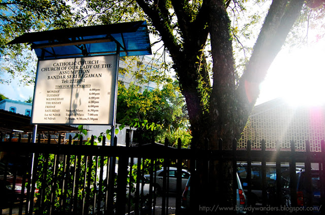 bowdywanders.com Singapore Travel Blog Philippines Photo :: Brunei :: Church of Our Lady of the Assumption in Bandar Seri Begawan, Brunei