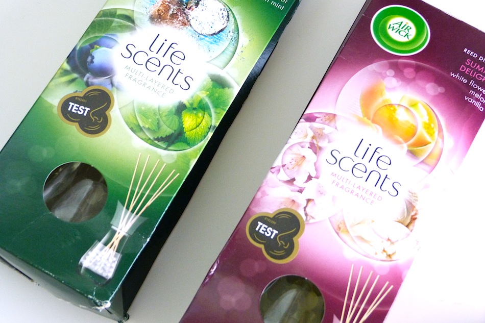 an image of Airwick Life Scents launch 1
