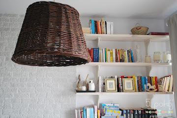 Tutorial DIY: Lampa z wiklinowego kosza [VIDEO]