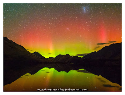 Aurora, Aurora Australis, Moke Lake, Queenstown