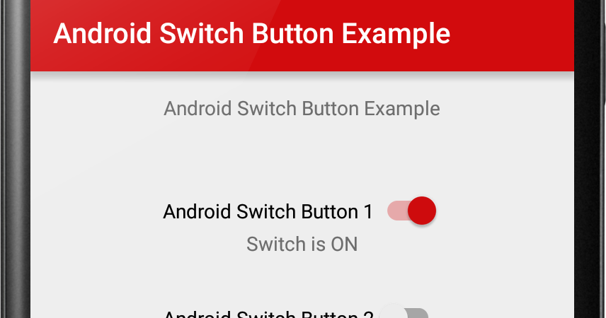 """8 thoughts on """"Switch (On/Off) Tutorial With Example In Android Studio"""""""