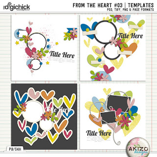 From The Heart 03 by akizo Designs