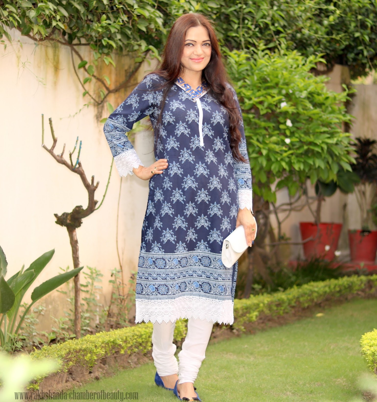 All blue OOTD with Styletag.com, Online shopping experience with Styletag.com,Indian fashion blogger, Chamber of Beauty