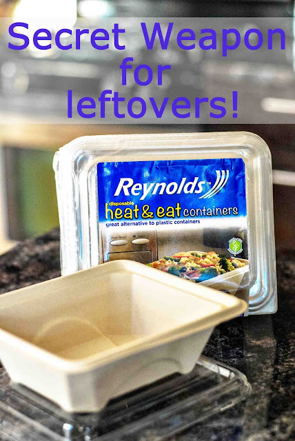 Reynolds Disposable Heat & Eat containers