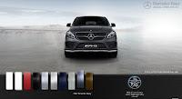 Mercedes AMG GLE 43 4MATIC 2017 màu Xám Tenorite 755
