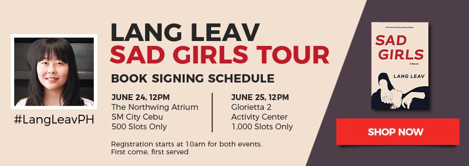 FTW! Blog, Lang Leav, Sad Girls Tour, www.zhequia.com, #FTWblog, #ZhequiaDOTcom, #LangLeav, #SadGirlsTour, @langleav #NationalBookStore #NBS @nbsalert