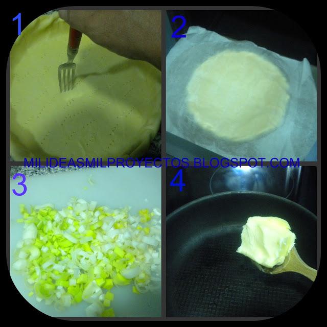 receta de tarta salada