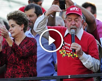 [ VIDEO ] Lula é chamado de ladrão por multidão durante comício no Rio Grande