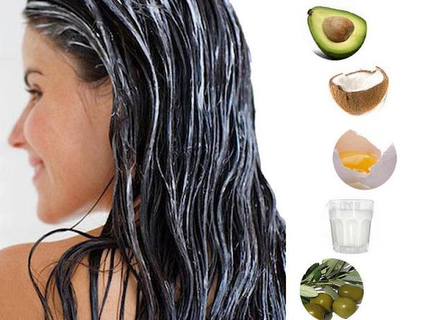 rawat rambut rontok dengan masker alami