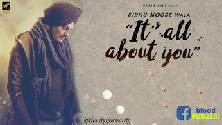 It's All About You by Sidhu Moose wala