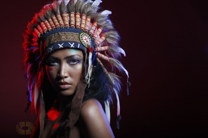 Indian Maiden Fantasy Pictures INDIAN MAIDEN From MODEL