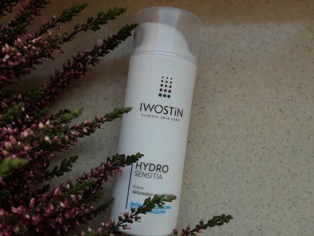 Iwostin Hydro Sensitia - Krem aktywator nawilżenia