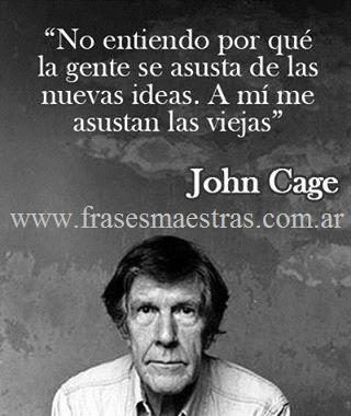 frases de John Cage