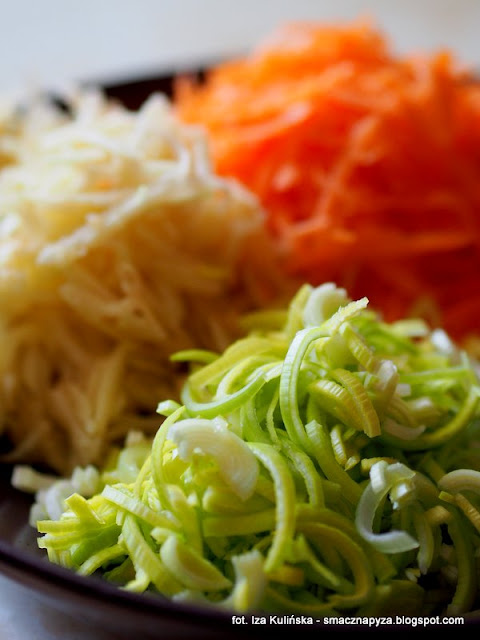 surowka porowa, por, pory, warzywa, dodatek do obiadu, obiad, pyszna suroweczka, witaminy, zdrowe warzywo, co zrobic z pora