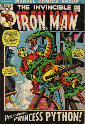 Iron Man #50, Princess Python