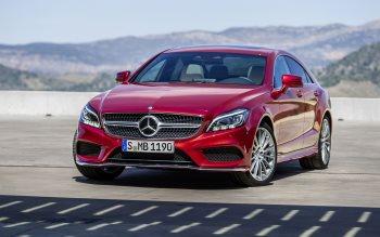 Wallpaper: Mercedes-Benz CLS & CLS Shooting Brake 2015