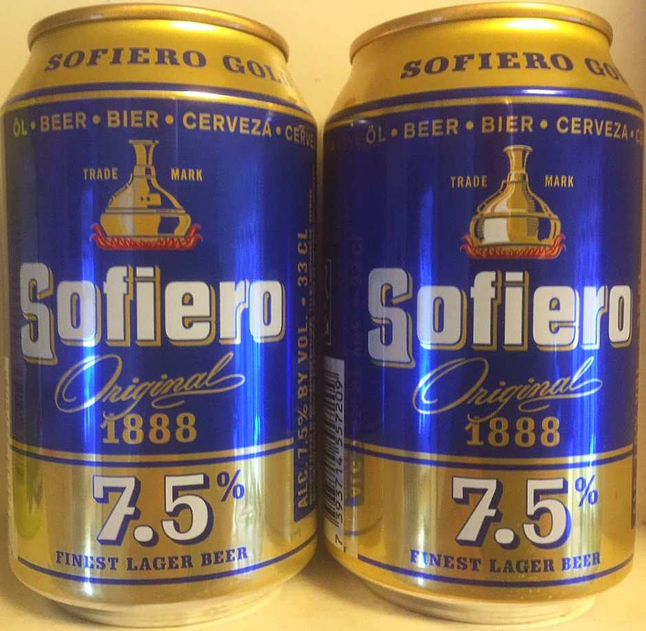 Burk-Bloggen: Sofiero Original 1888 7 5% (gränshandelsburk