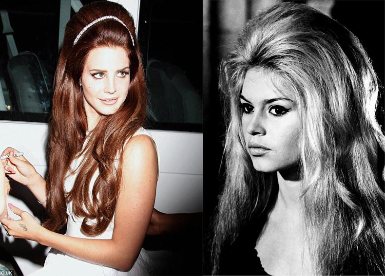 郡俏哲理。: 時尚新女聲拉娜德芮 最愛60年代復古穿搭