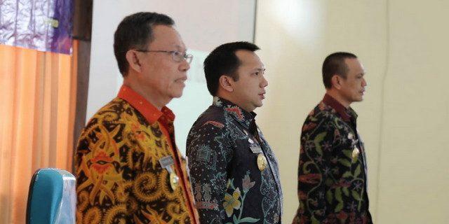 Gubernur Ridho Pemateri Pada DIKLATPIM IV
