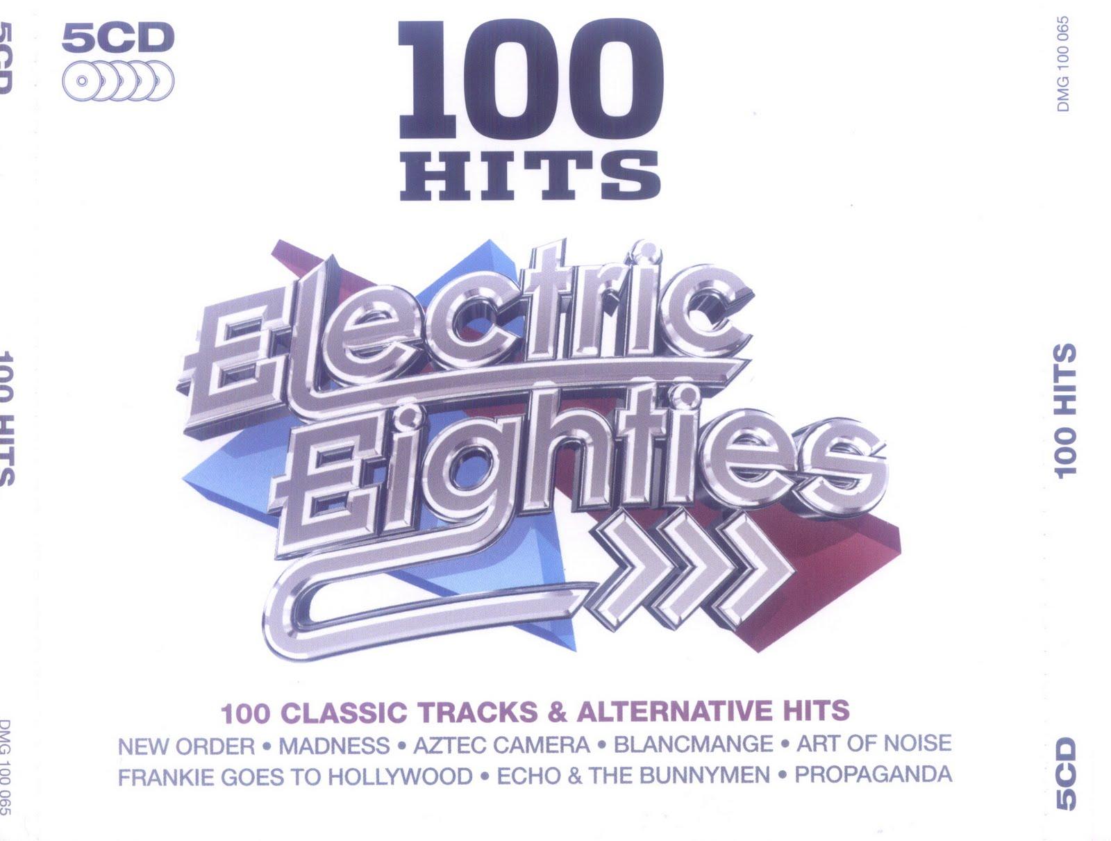 Música Para Pen Drive: 100 Hits Electric 80s (2011) 5 Cd's