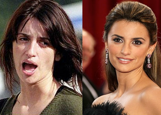 Penelope Cruz Tanpa Make Up