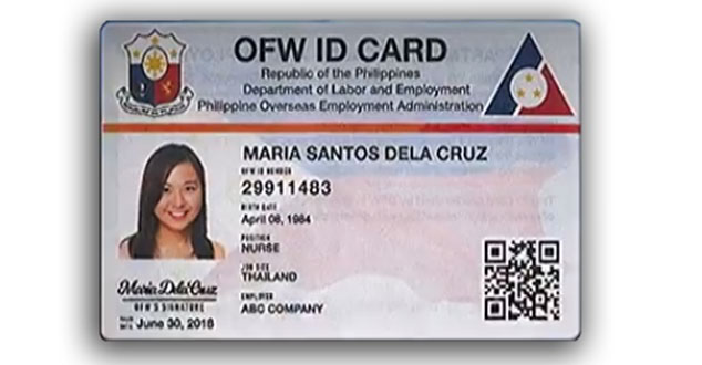 To Guide An Ofw Card - The Filipino Identification Get How