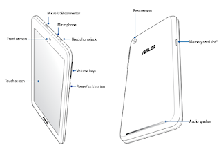 ASUS MeMO Pad 8 (ME181C) manual PDF download (English)