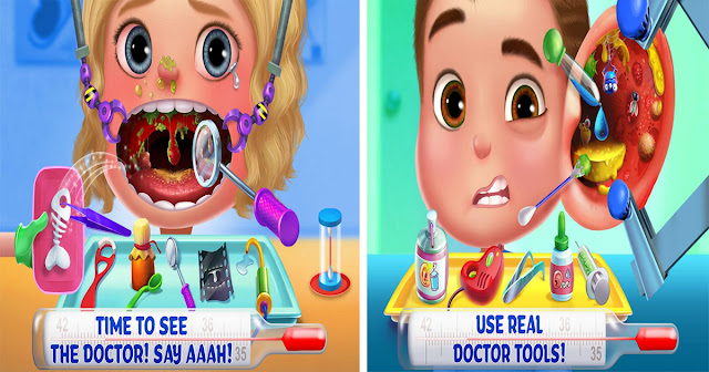 Kids Emergency Doctor app walkthrough.