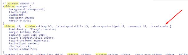 Cara Mengubah Warna Background Sidebar Blog Dengan Gradasi Warna