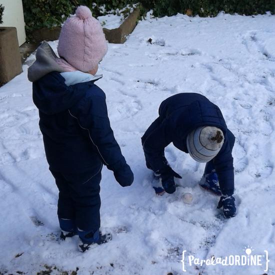 paroladordine bambini neve