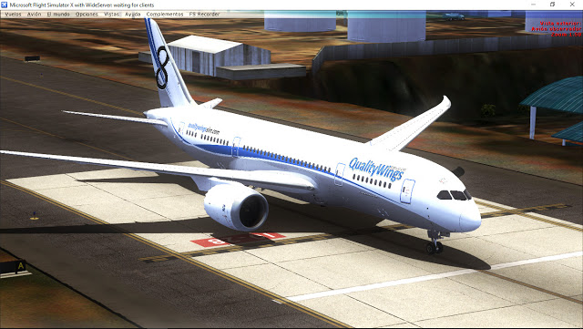 Qualitywings 787 P3d V4