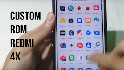 Custom Rom AEX 6.1 OFFICIAL Android 9 Pie Redmi 4X - Santoni